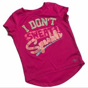 🧚♀4/$25 Athletic Works Girls Sport T-Shirt Sz4